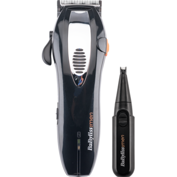 Aparat de tuns BaByliss Hair Clipper + Nose Trimmer Style Edition E900PE