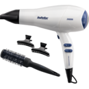 Uscator de par BaByliss D413PE , Fashion Dryer Set 2000W, 2 viteze, alb