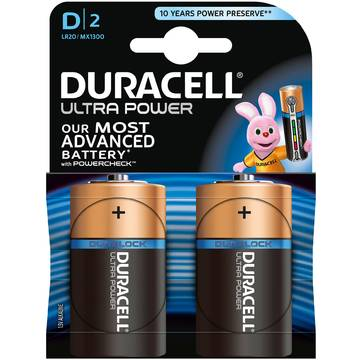 Baterie Duracell Ultra power D