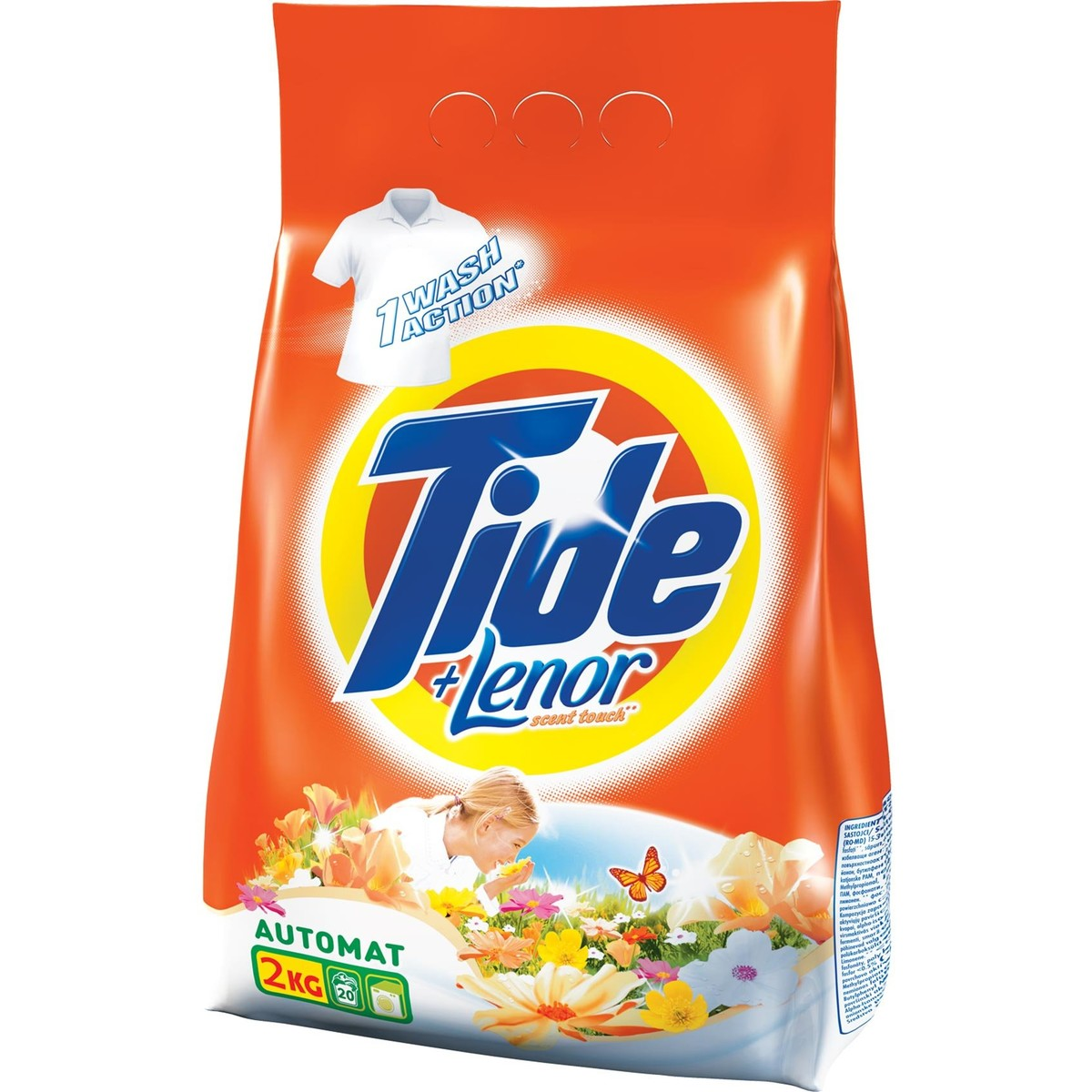 Tide automat 2in1 Lenor Touch 2kg