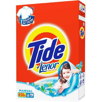 Tide manual 2in1 Lenor Touch 450g