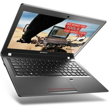 Lenovo E31-70 Intel Core i5-5200U 2.2 GHz 4GB DDR3 500GB+8GB SSHD 13.3 inch HD Cititor de amprente Webcam Windows 7 Pro / Windows 8 Pro