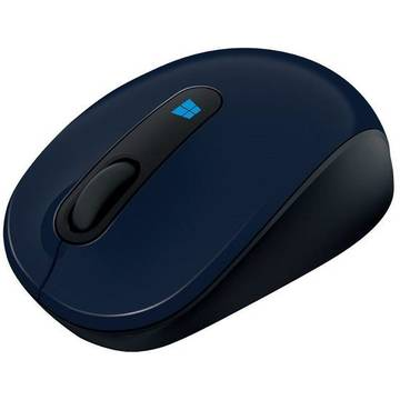 Mouse Microsoft 43U-00014, Sculpt Mobile Mse Win7/8 EN/AR/CS/NL/FR/EL/IT/PT/RU/ES/UK EMEA EFR Wool, albastru