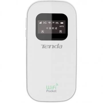Tenda Router wireless portabil. 3G, modem incorporat, display OLED, 3G185