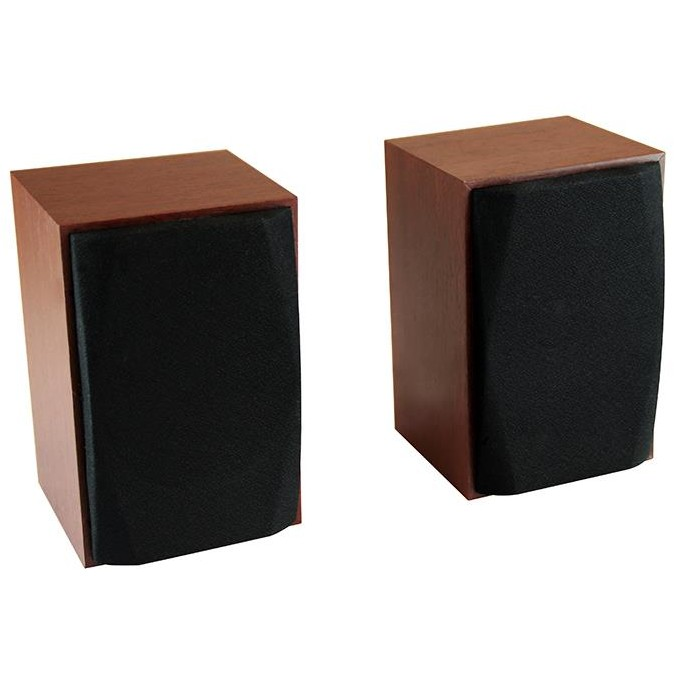 WOOD-X - Set of small, stereo speakers, powerd by USB port, RMS 10W