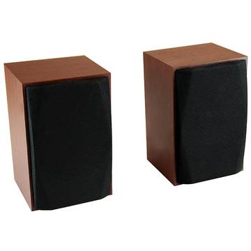 MEDIATECH WOOD-X - Set of small, stereo speakers, powerd by USB port, RMS 10W