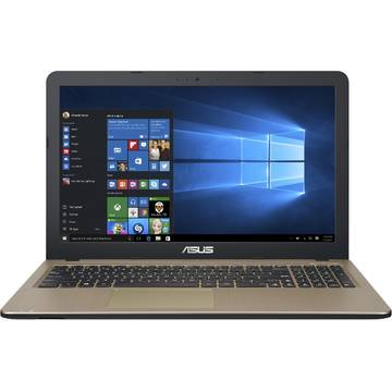 Notebook Asus A540SA 15.6'' Intel Celeron DC N3060 4GB 500GB Win10 64 Bit Chocolate Black