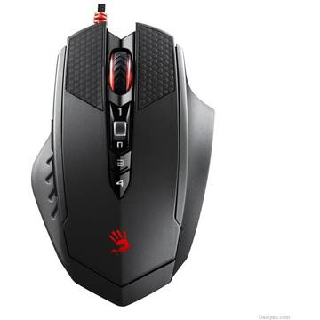 Mouse TL70, A4TECH BLOODY MF USB, negru