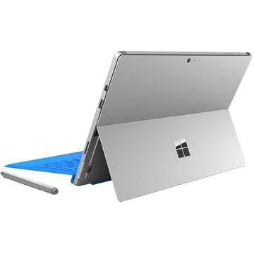Tableta Microsoft Surface Pro 4, 12.3 inch, Intel Core i5-6300U, 128 GB SSD, 4 GB RAM, Windows 10 Pro,argintie