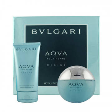 Bvlgari Aqva Marine Eau de Toilette 100ml + Shampoo And Shower Gel 150ml