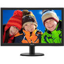 Monitor LED Philips 243V5QHSBA/00 V Line, Full HD, 16:9, 23.6 inch, 8 ms, negru