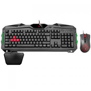 Tastatura A4Tech + Mouse Gaming Bloody B2100, USB B2100