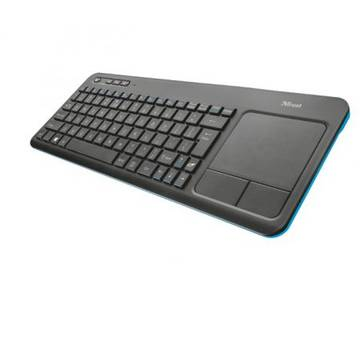 Tastatura Trust Veza, Wireless Multimedia , Negru