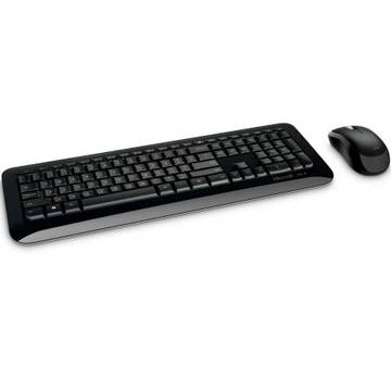 Tastatura Microsoft + Mouse Desktop 850, Wireless, Negru, Bulk PN9-00009