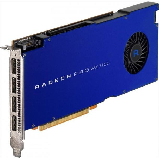 Placa video RADEON PRO WX 7100, 8GB, GDDR5