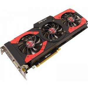 Placa video PNY GF, GTX, 1080, 8GB, XLR8, OC, GAMING