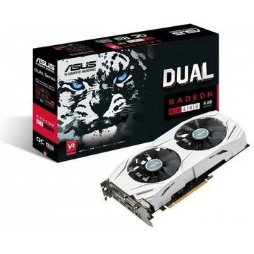 Placa video Asus RADEON DUAL-RX480-O8G, PCI3.0, GDDR5