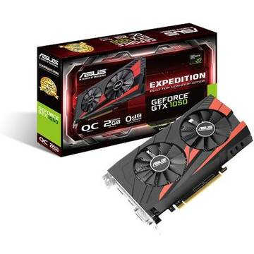 Placa video Asus GF EX-GTX1050-O2G, PCI-E3.0, GDDR5