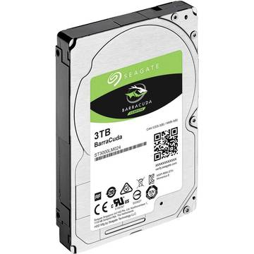 Seagate Hard disk laptop BarraCuda, 3 TB, 5400 RPM, SATA 6GB/s