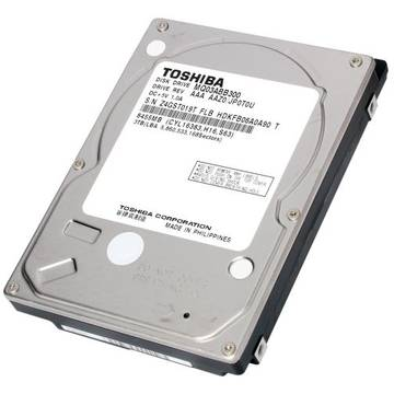 Toshiba Hard disk laptop MQ Series, 3 TB, 5400 RPM, SATA , 2.5 inch