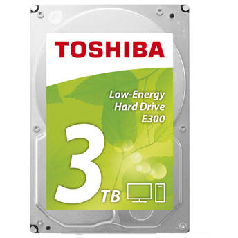 Hard disk Toshiba E300 - Low-Energy, 3 TB, 5900 RPM, SATA, 3.5 inch