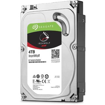 Hard disk Seagate IronWolf Pro NAS, 4TB, 7200 RPM, SATA 6GB/s