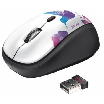 Mouse Trust YVI WIRELESS MOUSE - BIRD