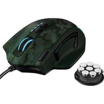 Mouse Trust GXT 155 GAMING MOUSE - GREEN