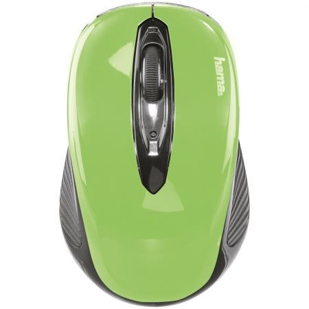 Mouse Wireless AM-7300, USB, Verde 86567