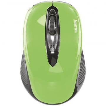 Mouse Hama Wireless  AM-7300, USB, Verde  86567