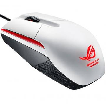 Mouse Asus USB ROG Sica White