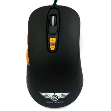Mouse Newmen GX1-PLUS Black Gaming