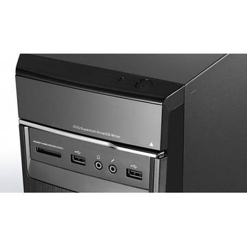 Sistem desktop brand Lenovo IdeaCentre 300, Intel Core i7-6700, 3.4GHz, 16 GB RAM, 2 TB HDD, video dedicat, Free DOS