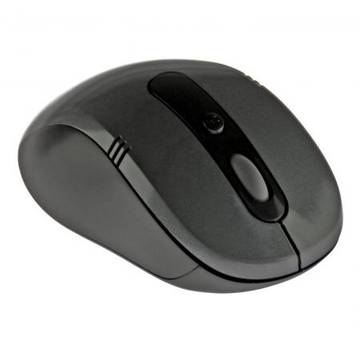 Mouse MEDIATECH OPTIX - Wireless optical mouse, 1600 cpi, 5 buttons, color black