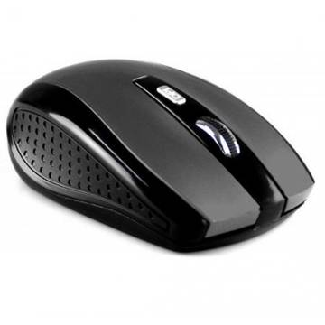 Mouse MEDIATECH RATON PRO - Wireless optical mouse, 1200 cpi, 5 buttons, color titan