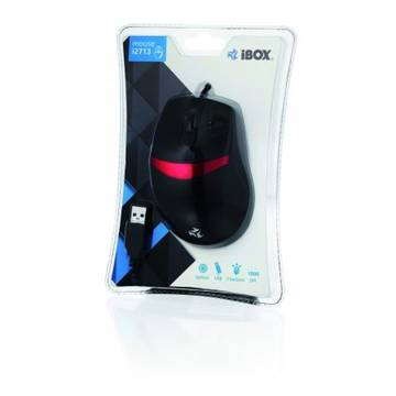 Mouse iBOX optic i2713, USB, negru