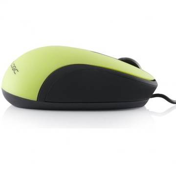 Mouse Logic optic cu fir Black LM-14 Negru/Verde