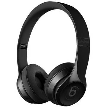 Casti Apple Beats mnen2zm/a, Solo3 Wireless On-Ear, negru