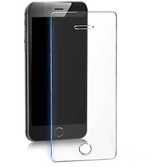 Qoltec Premium Tempered Glass Screen Protector for Apple iPhone SE