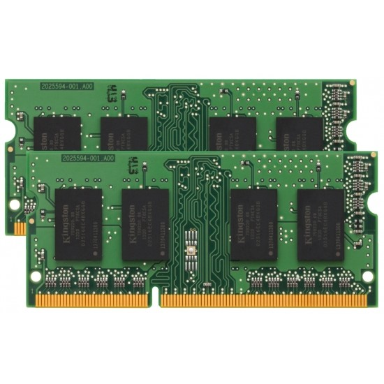 Memorie laptop Value Ram, DDR3, 8 GB, 1600 GHz, CL11, 1.35V, Unbuffered, non-ECC, kit