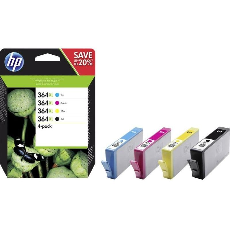 HP Tinte Combo-Pack 364XL 4er-Pack