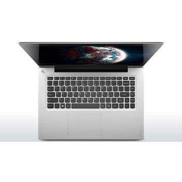 Lenovo U430p Intel Core i5-4258U 2.4 GHz 4GB DDR3 500GB+8GBSSHD 14 inch HD Webcam Bluetooth Windows 8.1