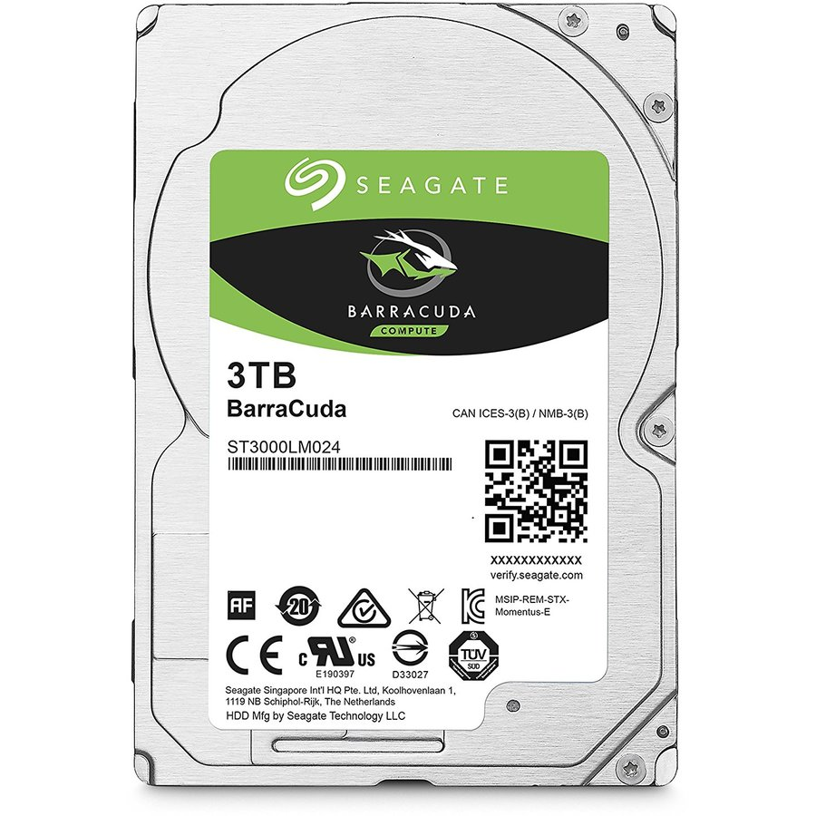 Hard disk laptop BarraCuda, 3 TB, 5400 RPM, SATA 3