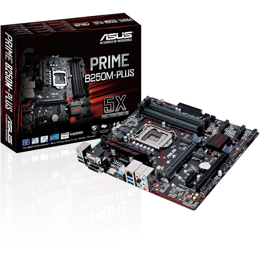 Placa de baza PRIME B250M-PLUS MB INTEL B250 ASUS