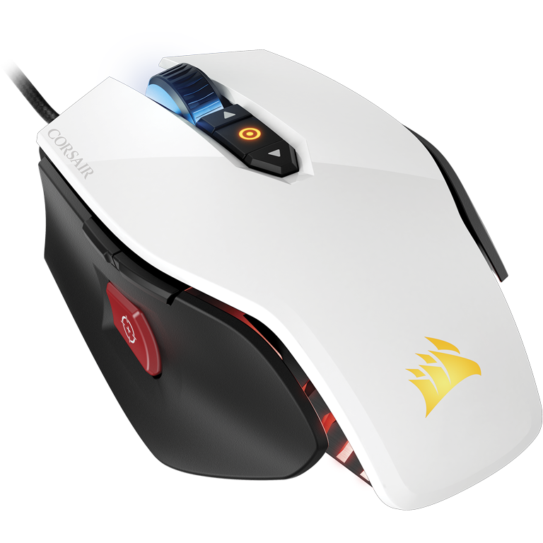 Mouse USB Corsair Gaming M65 Pro RGB CH-9300111-EU, alb