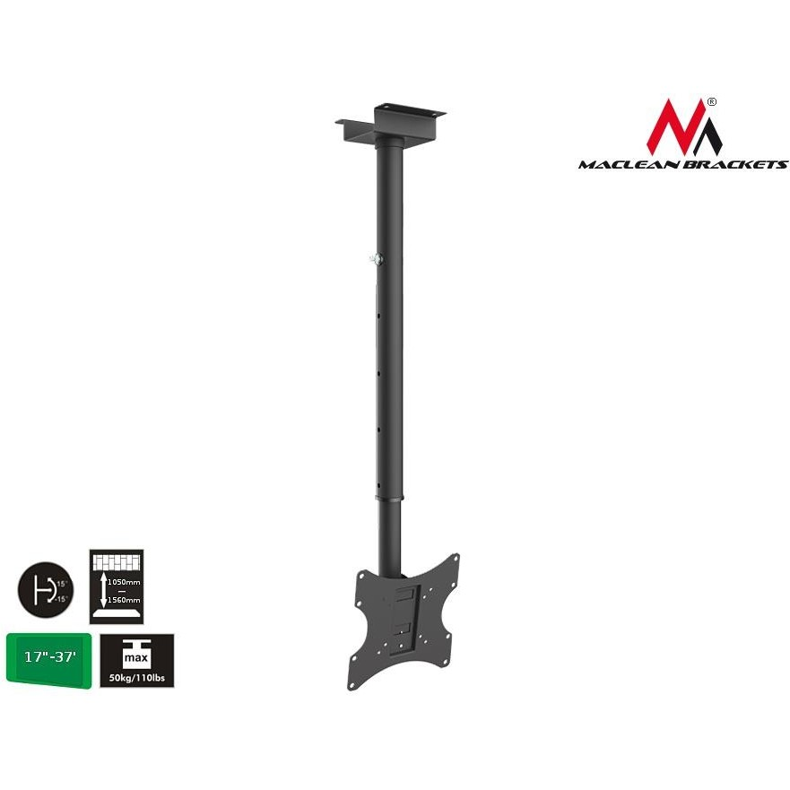 Maclean MC-580 hight quality celling TV LCD / LED Screens Bracket