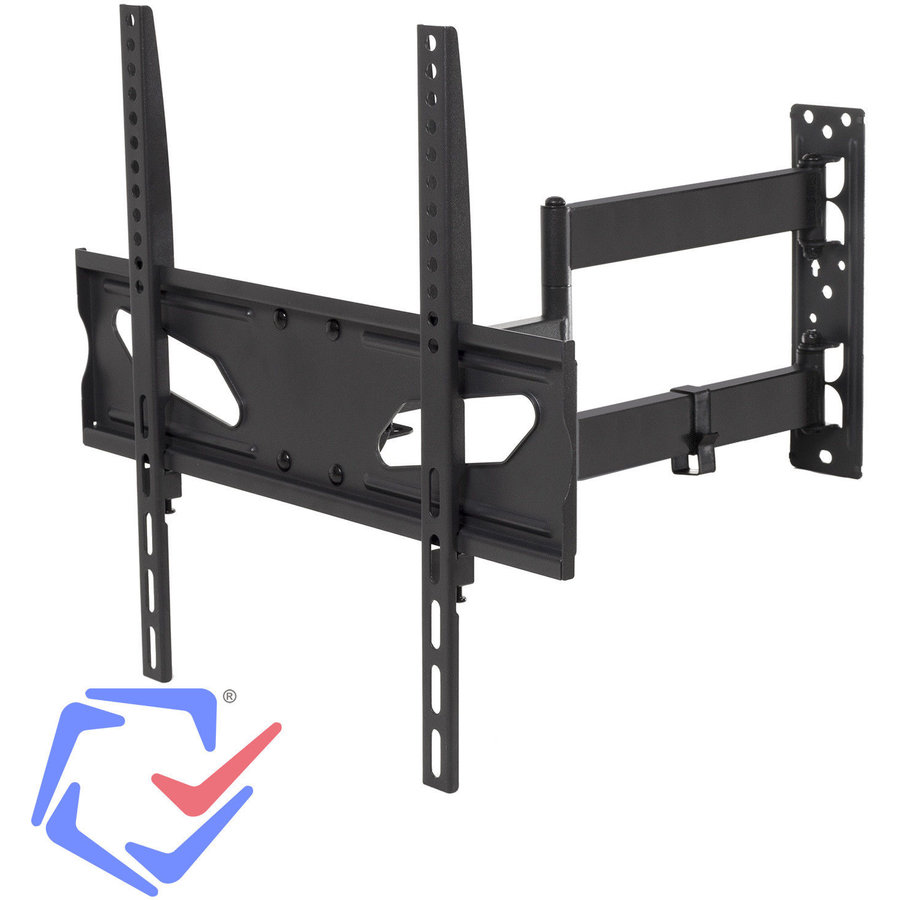 Maclean MC-711 Adjustable Wall Mounted TV bracket For Curved And Flat Screens