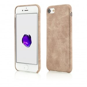 iPhone 7 | Clip-On Leather Feel | Gold