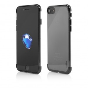 iPhone 7 | Clip-On Shiny Soft Series | Black