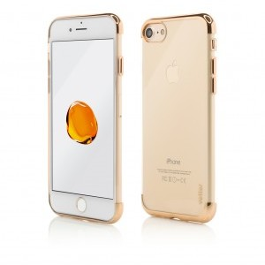 iPhone 7 | Clip-On Shiny Soft Series | Gold